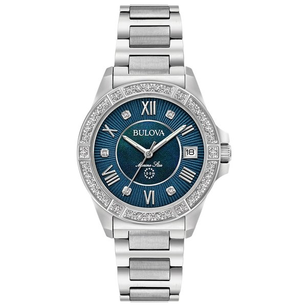 Bulova 96R215 Marine Star dames 32mm 10ATM