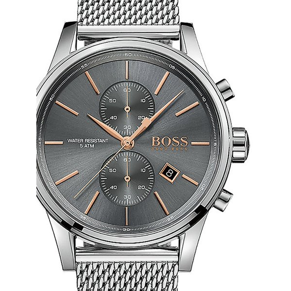 Boss 1513440 Jet Chronograaf Heren 42mm 5ATM