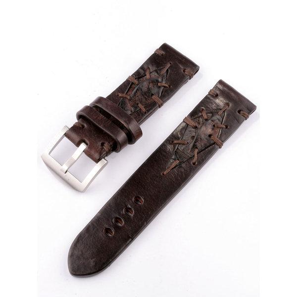 U-Boat HerenBandje Vintage Collection 7283 Bruin 23/22 SS calfskin leather