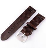 U-Boat U-Boat HerenBandje Vintage Collection 7283 Bruin 23/22 SS calfskin leather