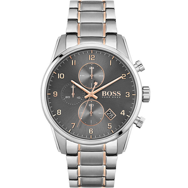 Hugo Boss 1513789 Skymaster Heren Chronograaf 44mm 5ATM