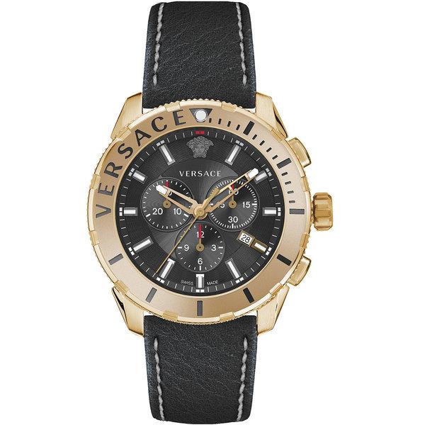 Versace VERG00318 Heren Casual Chronograaf 48mm 5ATM