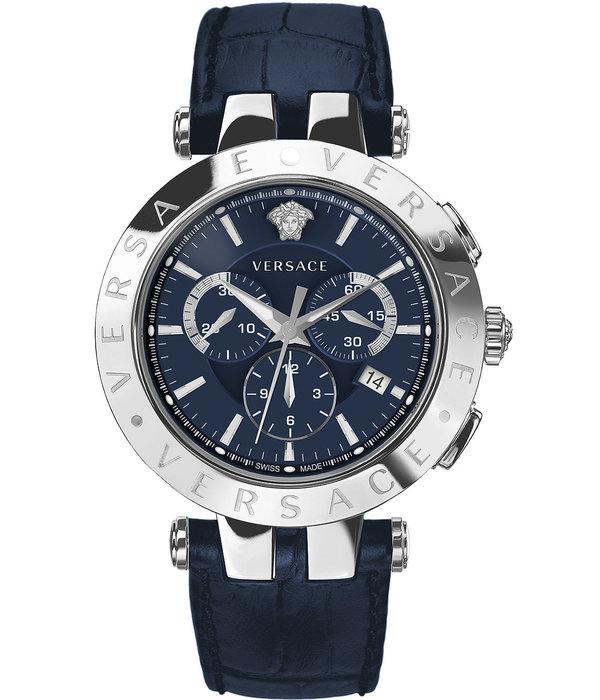 Versace Versace VERQ00620 V-Race Chronograaf 42mm 5ATM