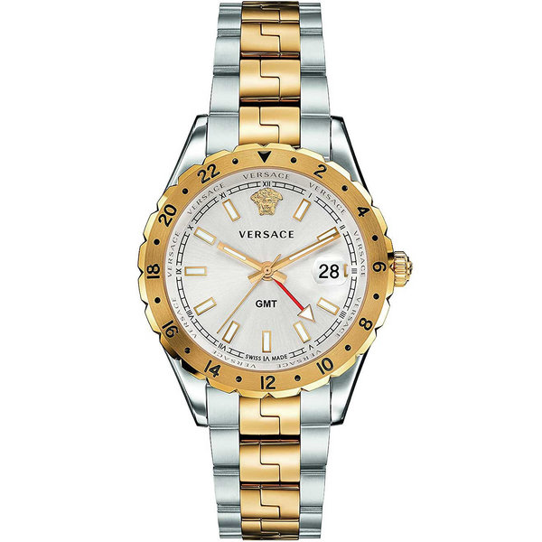 Versace V11030015 Hellenyium GMT Heren 42mm 5ATM