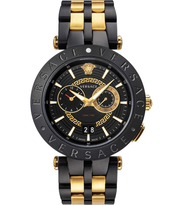 Versace Versace VEBV00619 New New V-Race Chronograaf Heren 46mm 5ATM