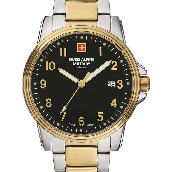 Swiss Alpine Military 7011.1147 Heren 40mm 10ATM