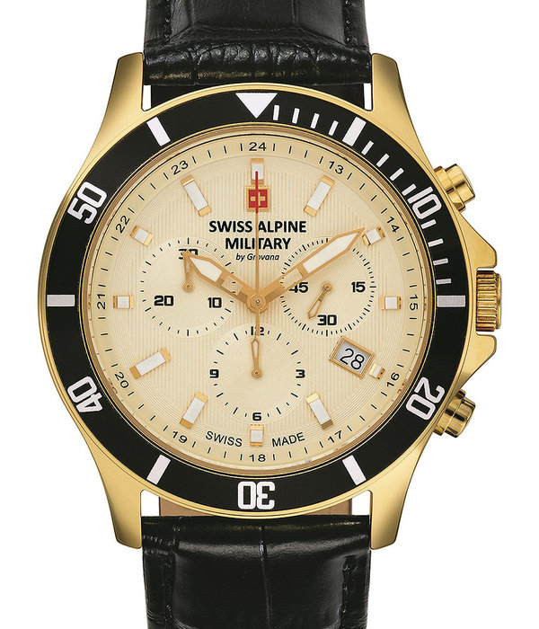 Swiss Alpine Military Swiss Alpine Military 7022.9511 chronograph 42mm 10ATM
