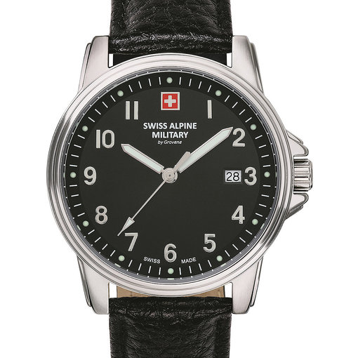 Swiss Alpine Military Swiss Alpine Military 7011.1537 Heren 40mm 10ATM