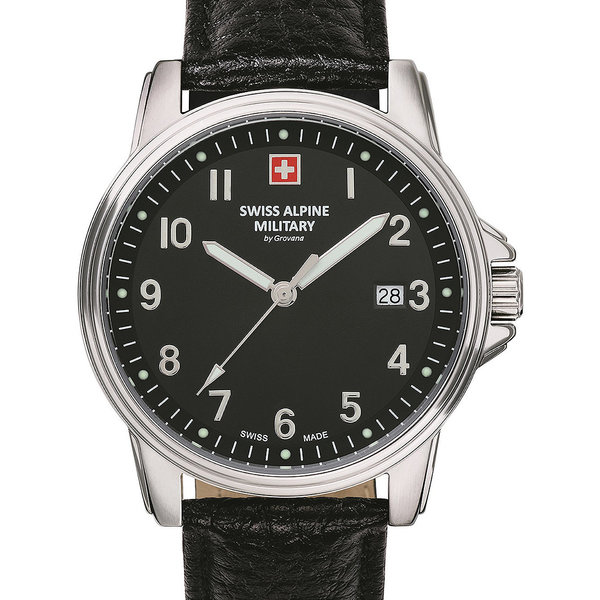 Swiss Alpine Military 7011.1537 Heren 40mm 10ATM