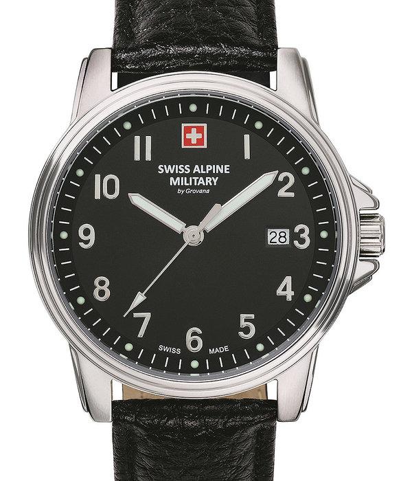 Swiss Alpine Military Swiss Alpine Military 7011.1537 Heren 40mm 10ATM