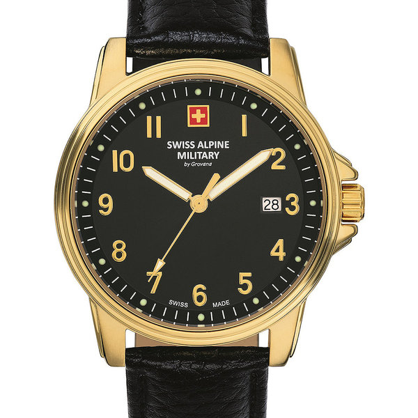 Swiss Alpine Military 7011.1517 Heren 40mm 10ATM
