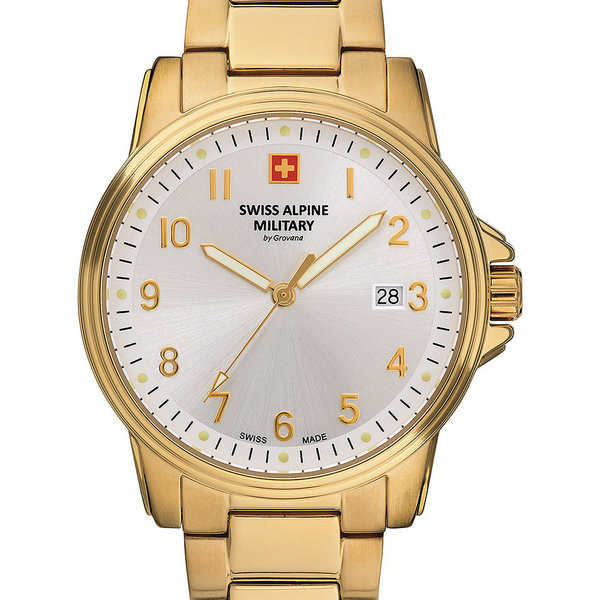 Swiss Alpine Military 7011.1112 Heren 40mm 10ATM