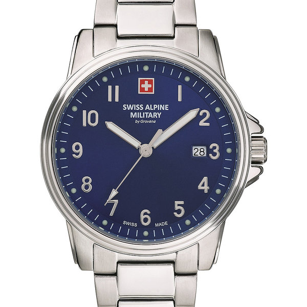 Swiss Alpine Military 7011.1135 Heren 40mm 10ATM