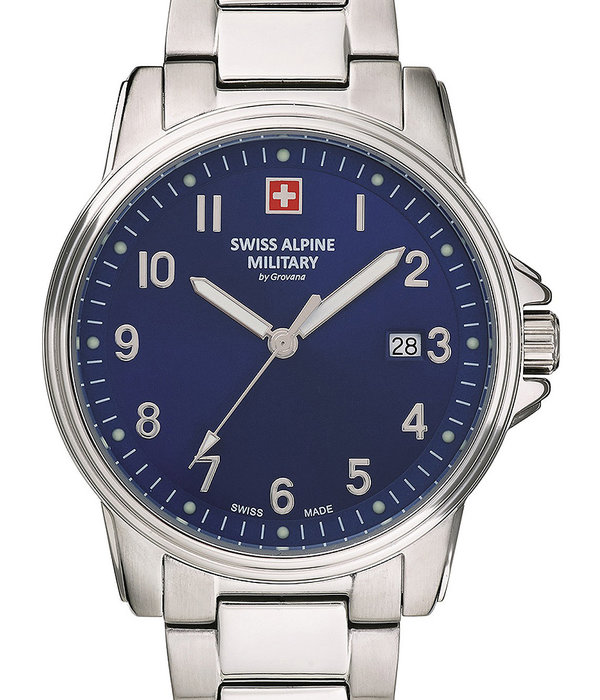 Swiss Alpine Military Swiss Alpine Military 7011.1135 Heren 40mm 10ATM