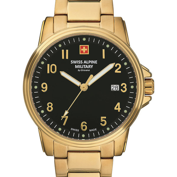 Swiss Alpine Military 7011.1117 Heren 40mm 10ATM