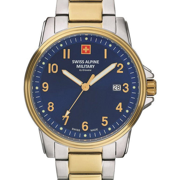 Swiss Alpine Military 7011.1145 Heren 40mm 10ATM