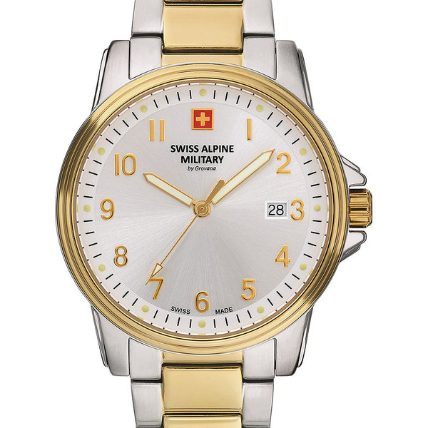 Swiss Alpine Military 7011.1142 Heren 40mm 10ATM