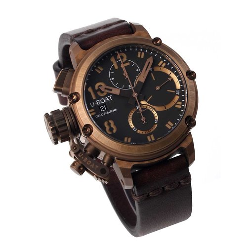 U-Boat U-Boat Heren 8014 Chimera Bronze Chronograaf 43mm 10 ATM