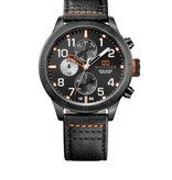 Tommy Hilfiger Trent TH1791136 - Horloge - Zwart - 46 mm - 5 ATM