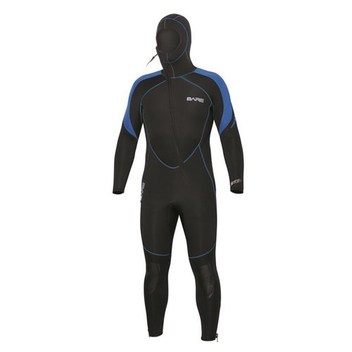 Bare 7mm Sport S-Flex Hooded Full Blue Men