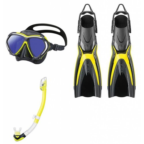 Tusa Paragon Switch Hyperdry snorkelset