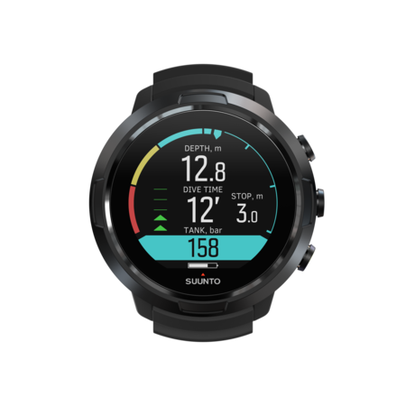 Suunto Suunto D5 All Black duikcomputer