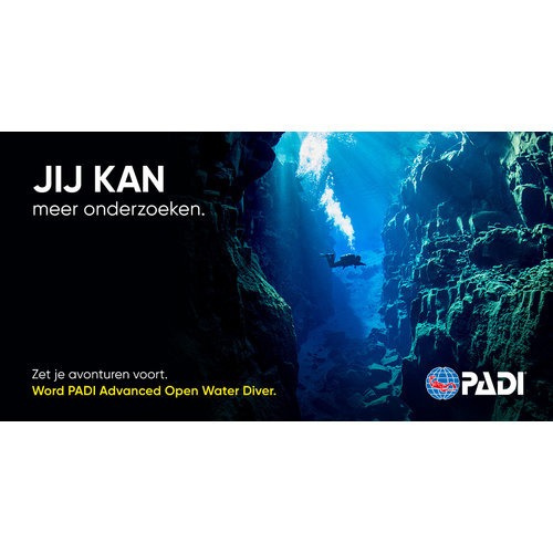 Padi PADI Advanced Open Water Diver