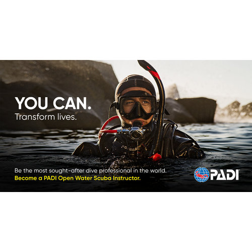 Padi PADI Open Water Scuba Instructeur