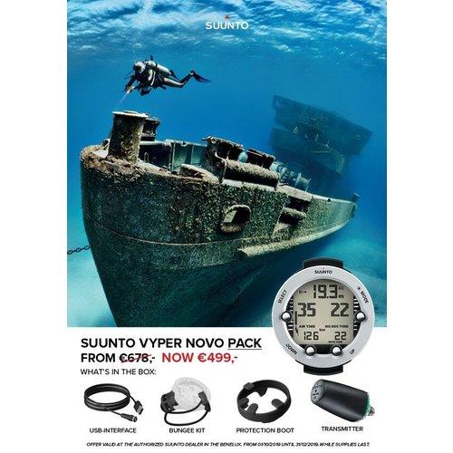 Suunto Vyper Novo met Transmitter Pack