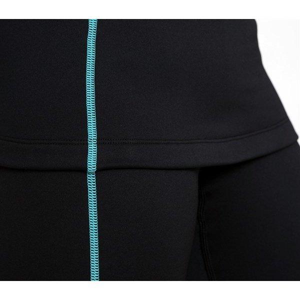 Ultrawarmth Base Layer Broek Black/Aqua Women