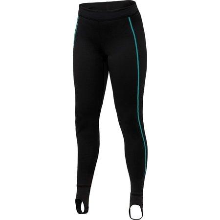 Bare Ultrawarmth Base Layer Broek Black/Aqua Women