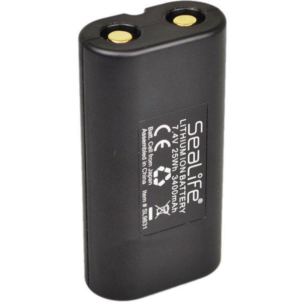 Batterij Li-Ion voor alle Sea Dragon Lampen (behalve de SD4500/SD5000)