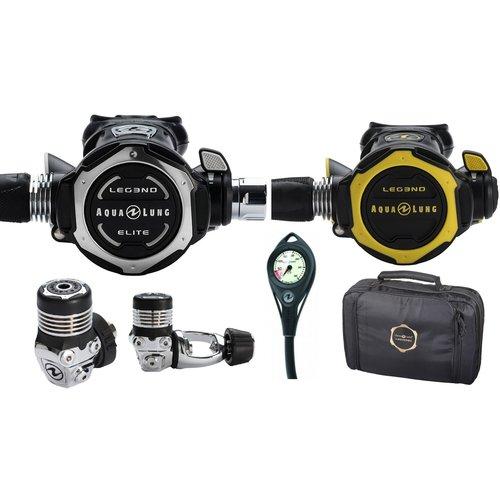 Aqualung Pack Leg3nd Elite  + Leg3nd Octopus + PG + Regulator Bag