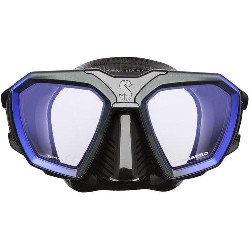 Scubapro D-Mask Blauw/Zwart Wide
