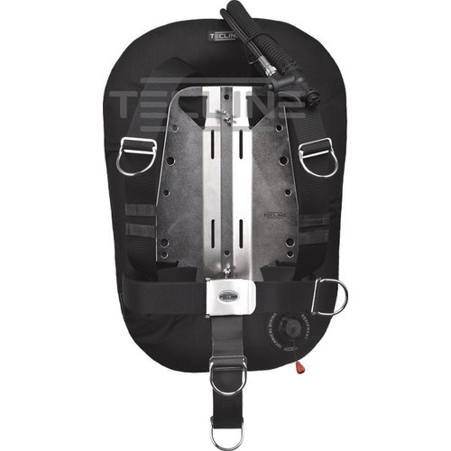 Tecline Tecline Donut 15 with adjustable DIR harness,built in mono adapter, weight pocket, tank belts & BP