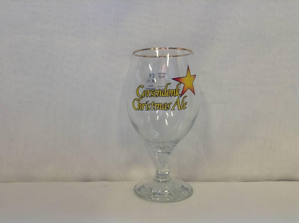 CORS. CHRISTMAS GLASS