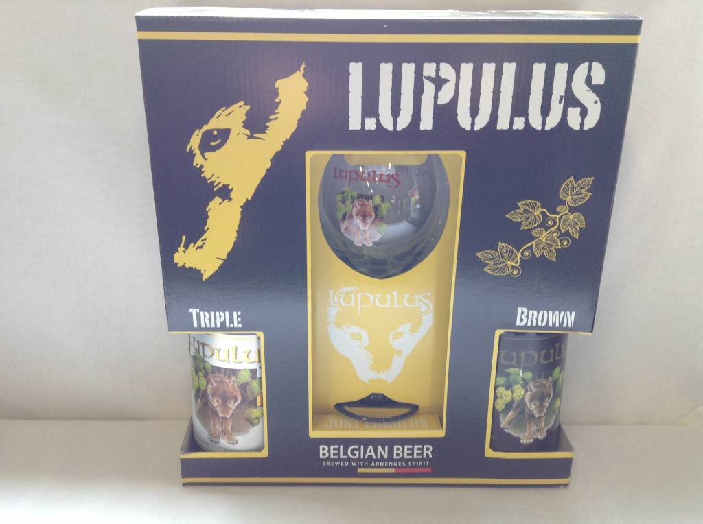 LUPULUS GV 2X75 CL + GLAS