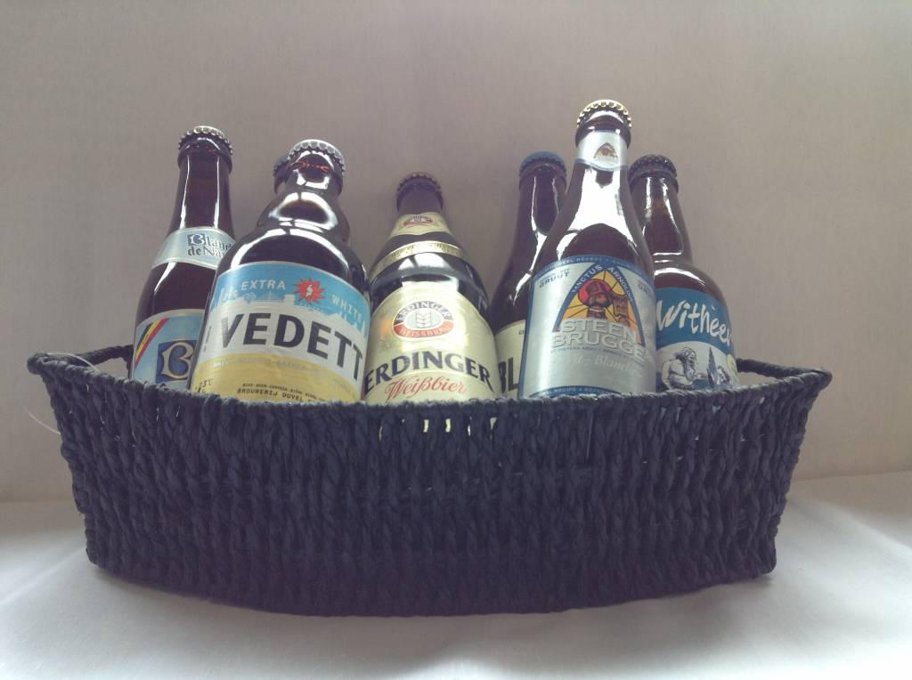BASKET WHITE BEERS