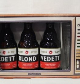 VEDETT TV 3X33CL+GLAS