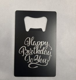 CARD OPENER BIRTHDAY