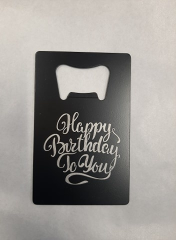 CARD OPENER BIRTHDAY