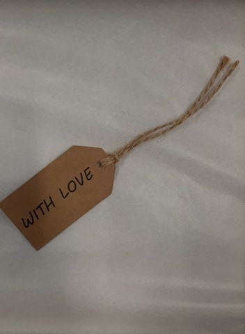 KRAFT WENSLABEL - WITH LOVE