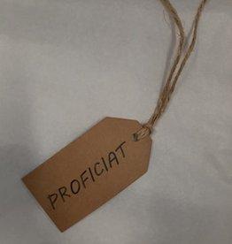 KRAFT WENSLABEL - PROFICIAT