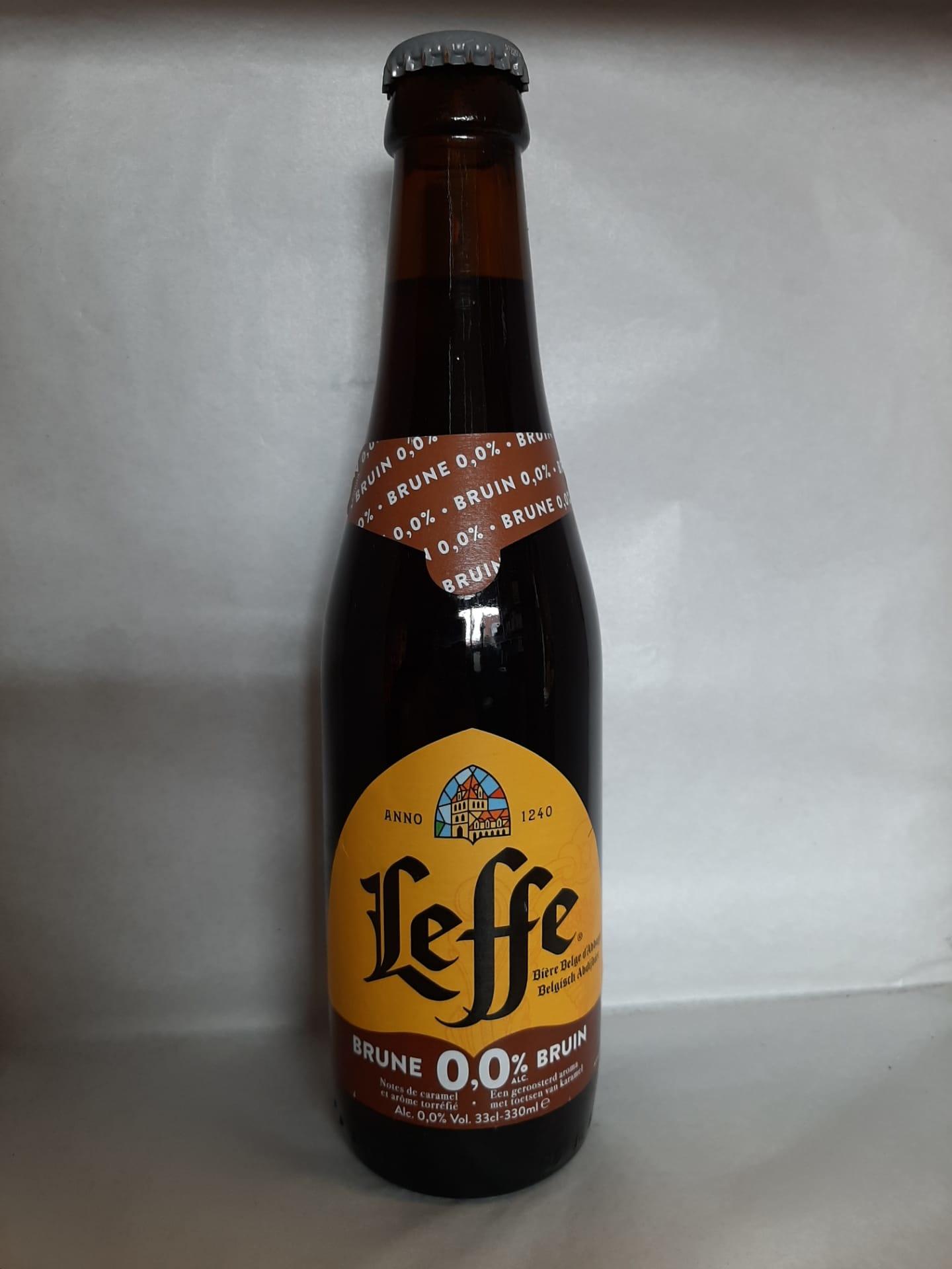 LEFFE BRUIN 0,0 33 CL