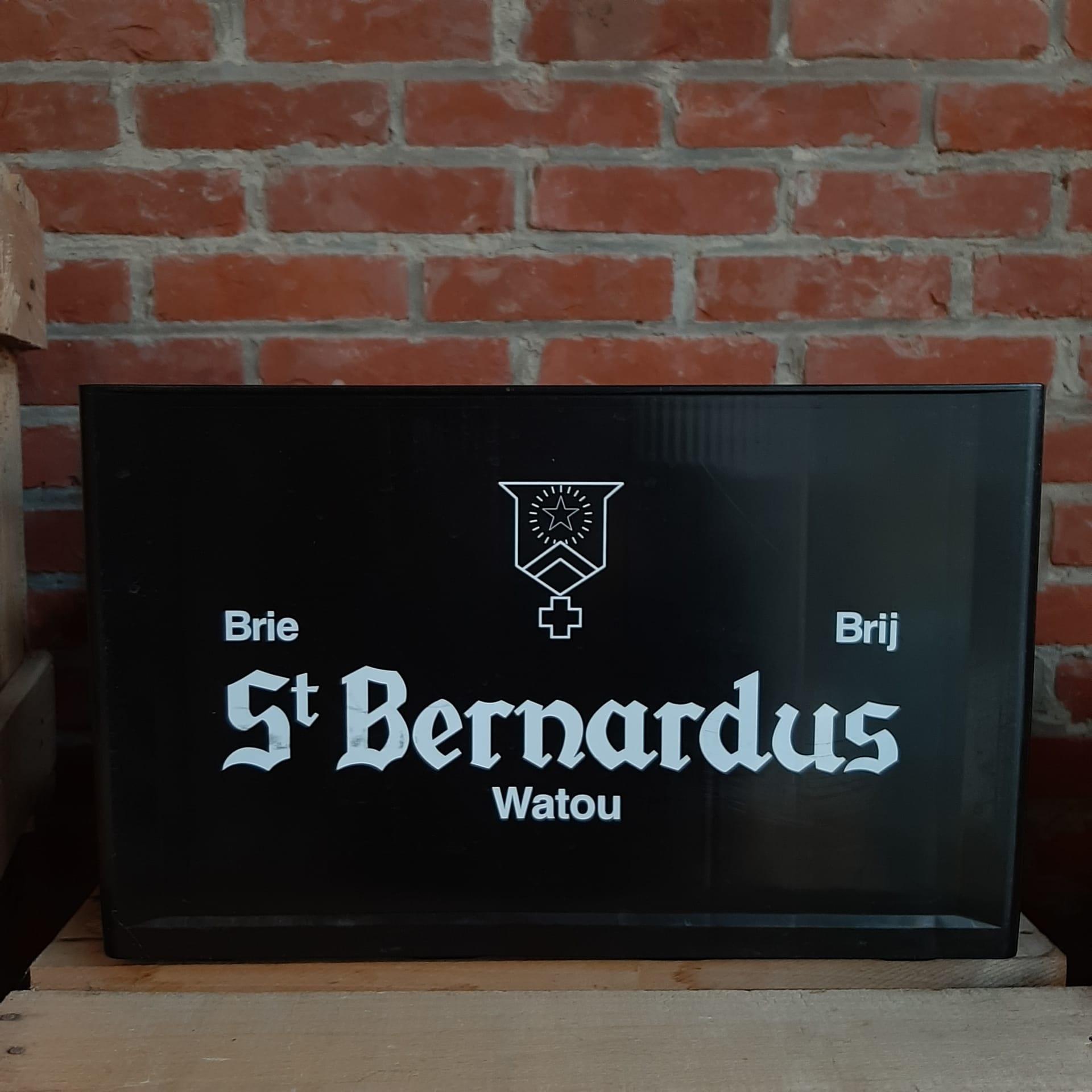 EMPTY CRATE ST.  BERNARDUS