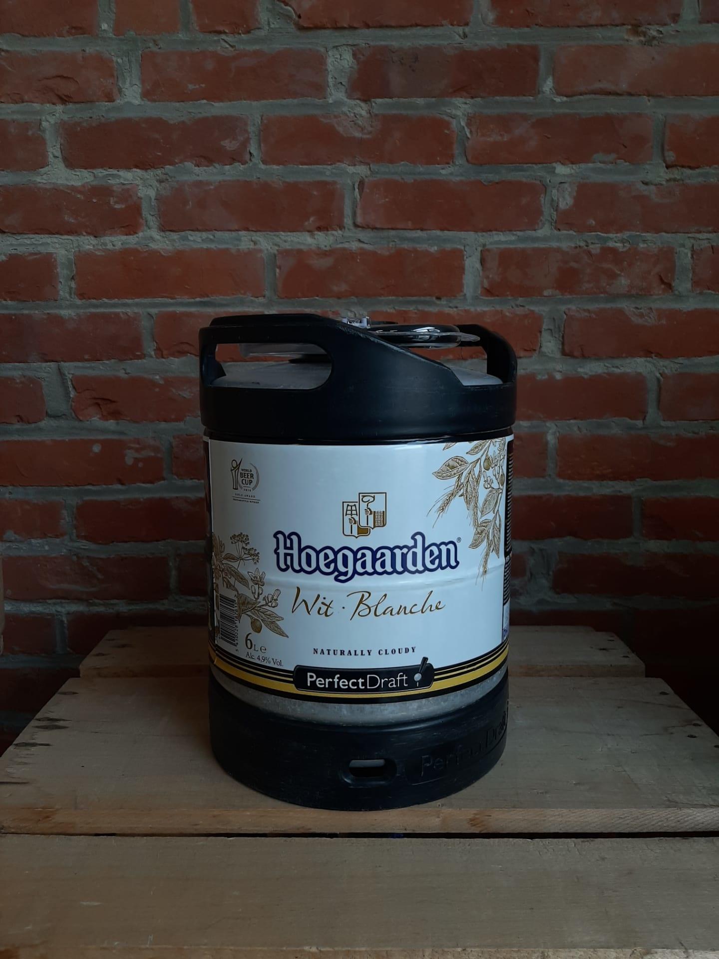 HOEGAARDEN PERFECT DRAFT KEG 6 L