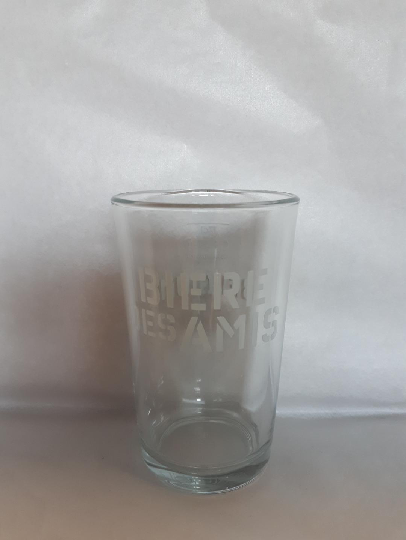 BIERE DES AMIS GLASS 17 CL
