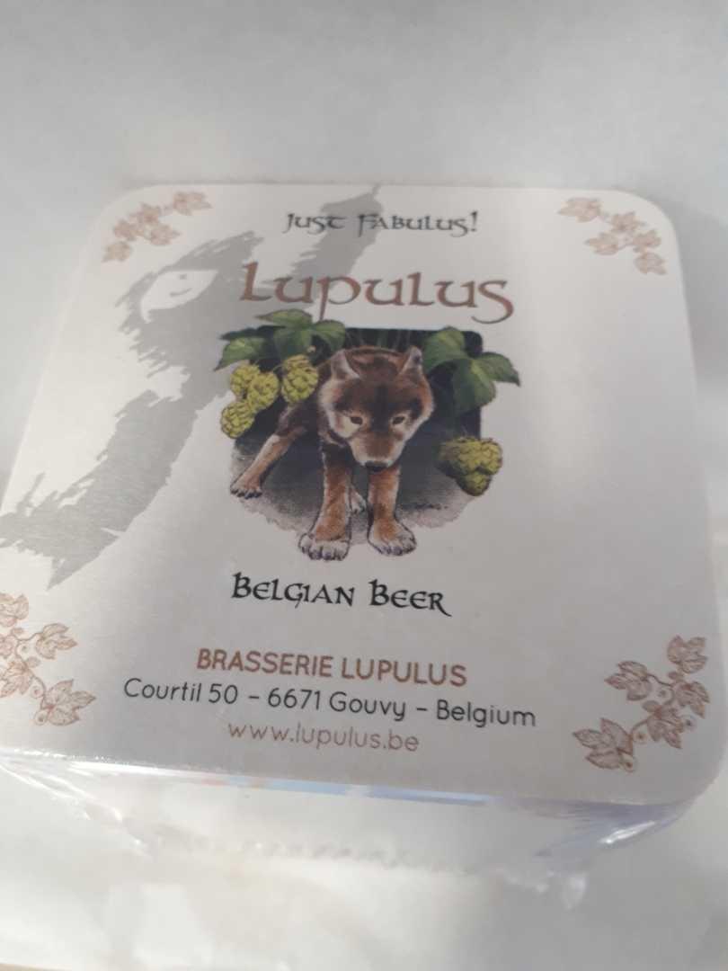 BEER MATS  LUPULUS