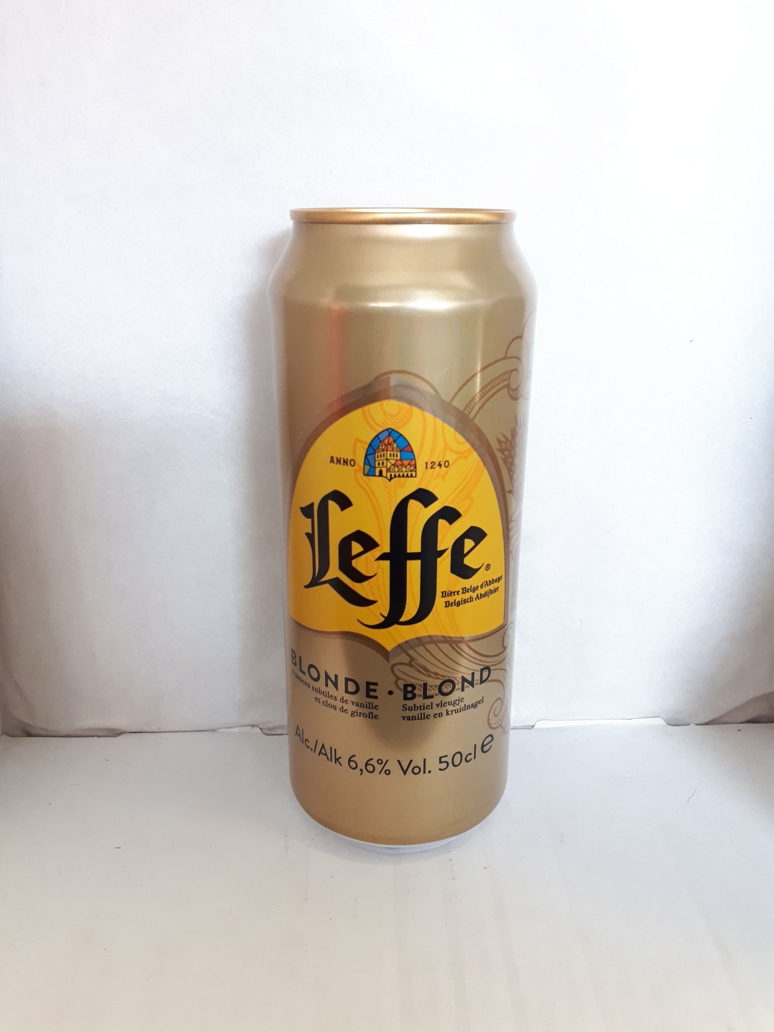CAN LEFFE BLOND 50 CL