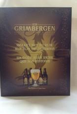 GRIMBERGEN BOEK 4X33CL+GLAS